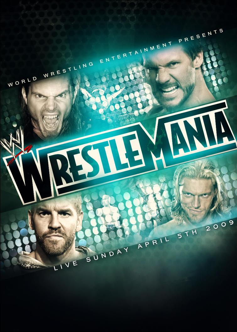 WWE Wrestlemania 25 Poster by SaintMichael