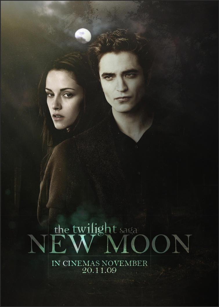 Twilight - New moon Poster V2 by SaintMichael