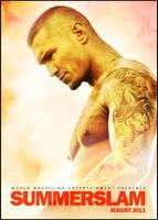 WWE Summerslam 2011 Poster by SaintMichael