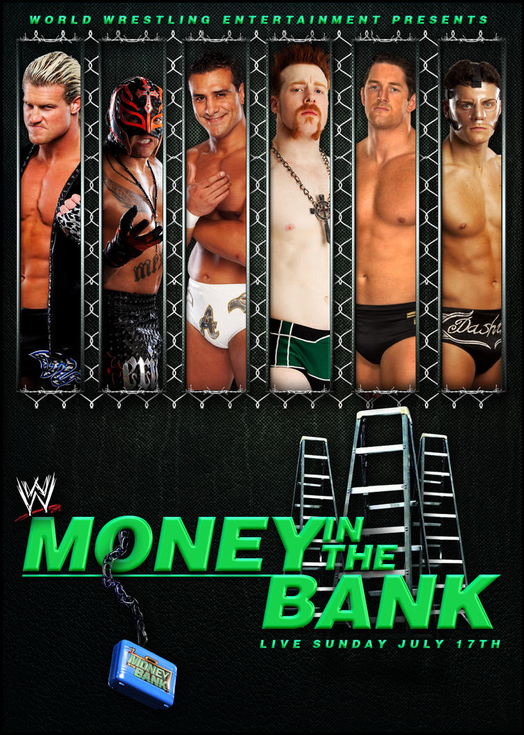 WWE Money in the Bank Poster by SaintMichael