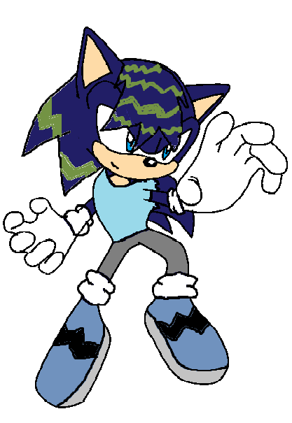 Colin the Hedgehog by manicgirl155