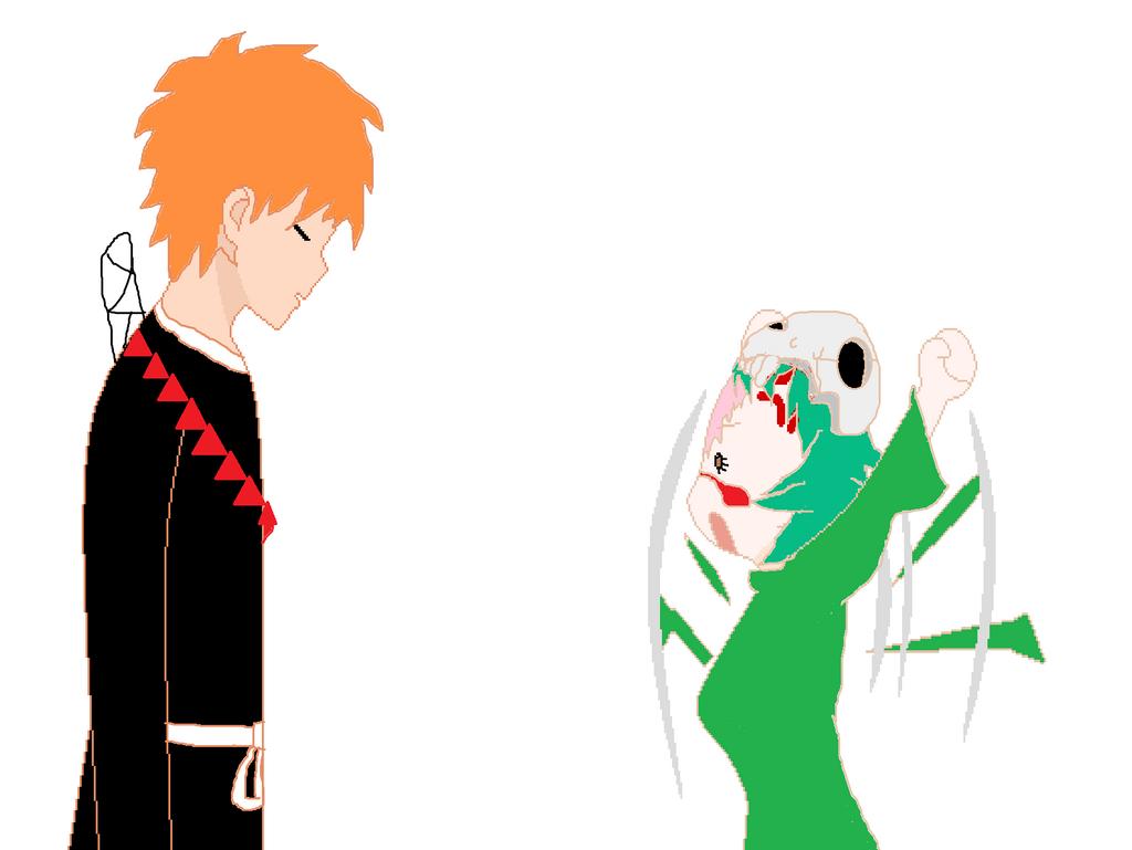 Nel and Ichigo by manicgirl155