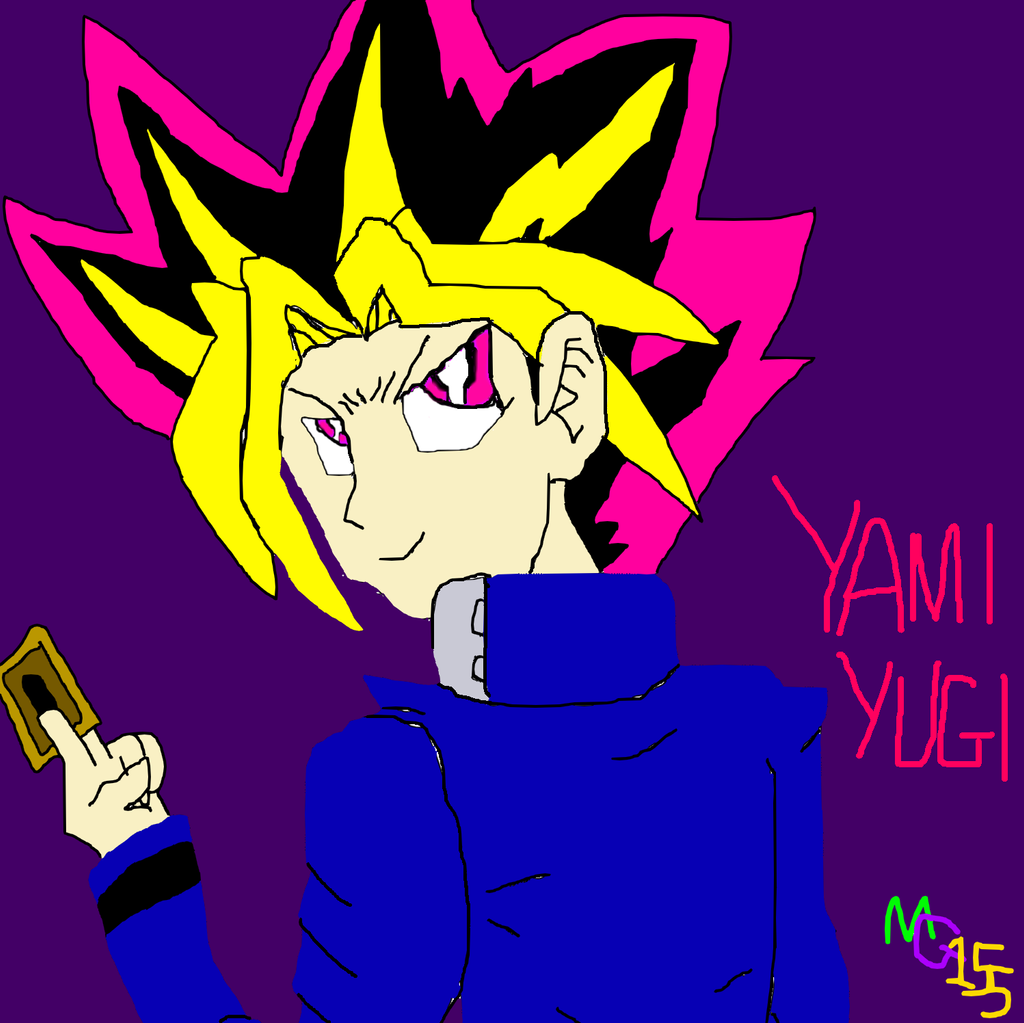 Yami Yugi by manicgirl155