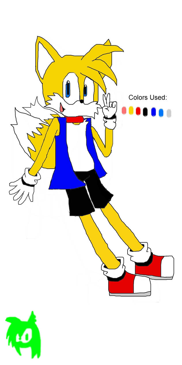 Tails Reference- The New S.U. by manicgirl155