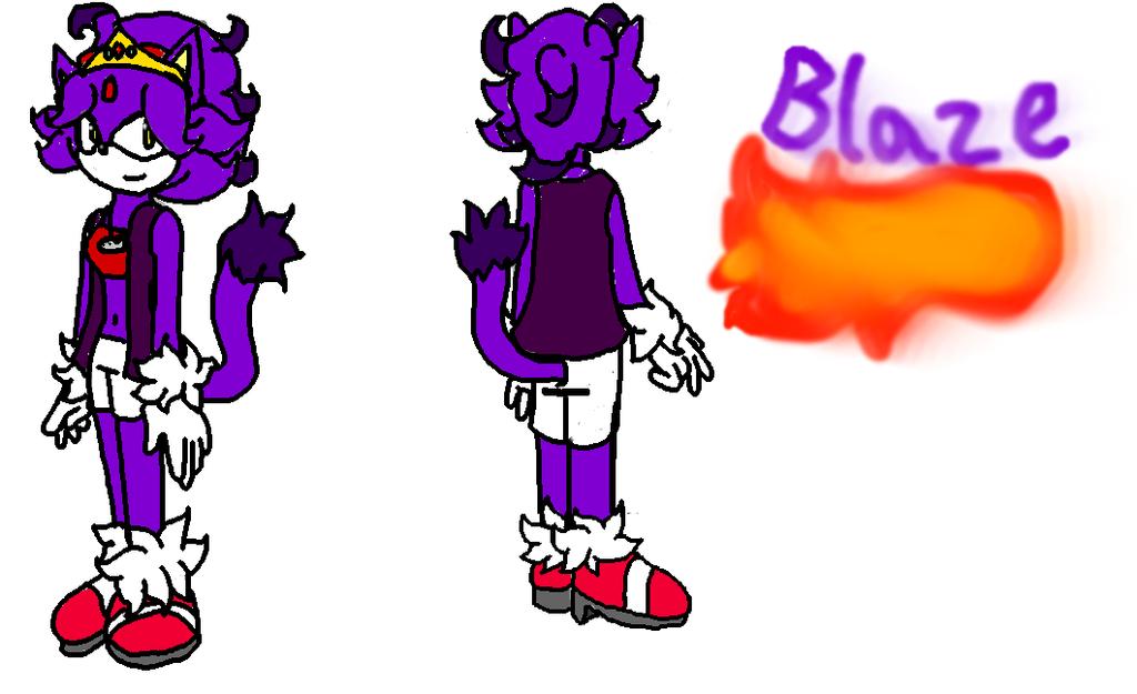 Blaze Reference- T.N.S.U. by manicgirl155