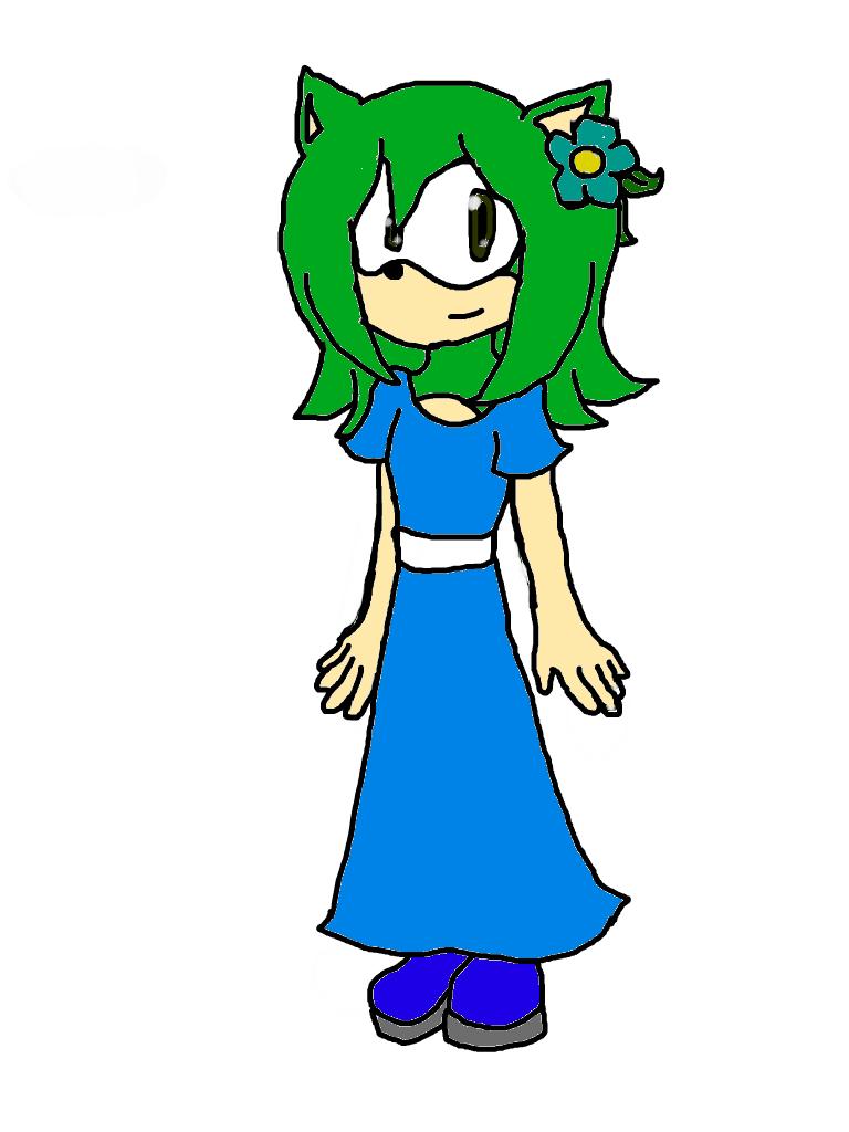 Sara the Hedgehog by manicgirl155