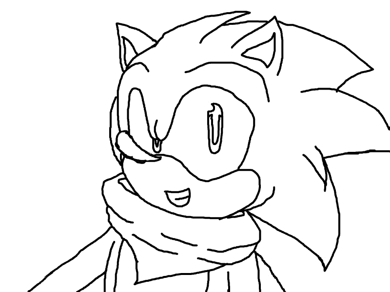 .:Sonic Boom Lineart:. by manicgirl155