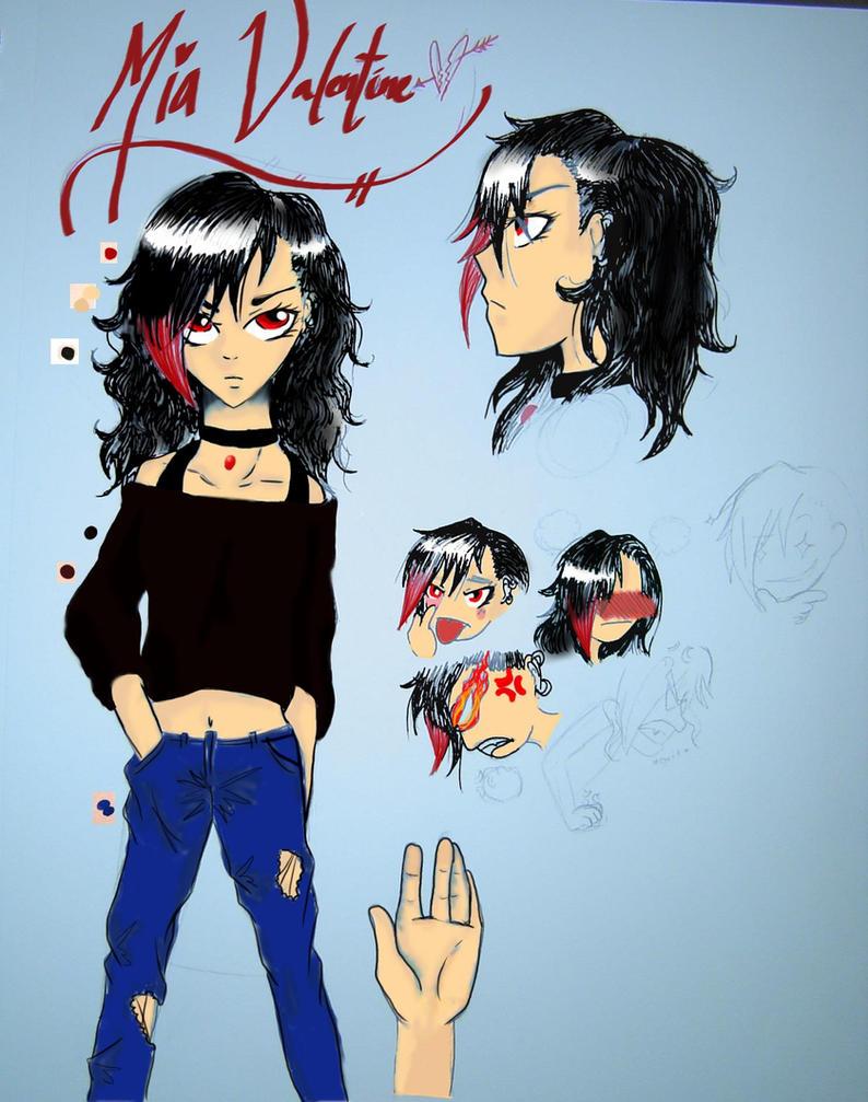 Mia Valentine Character Layout ROTG By Animecake55 ...