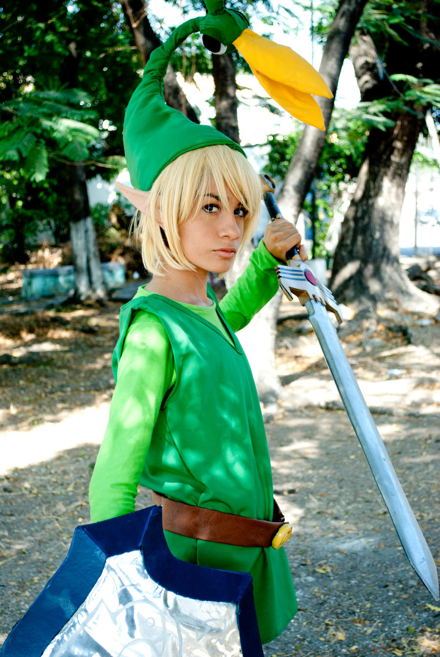 Hyrule Town Hero by darkbellphon