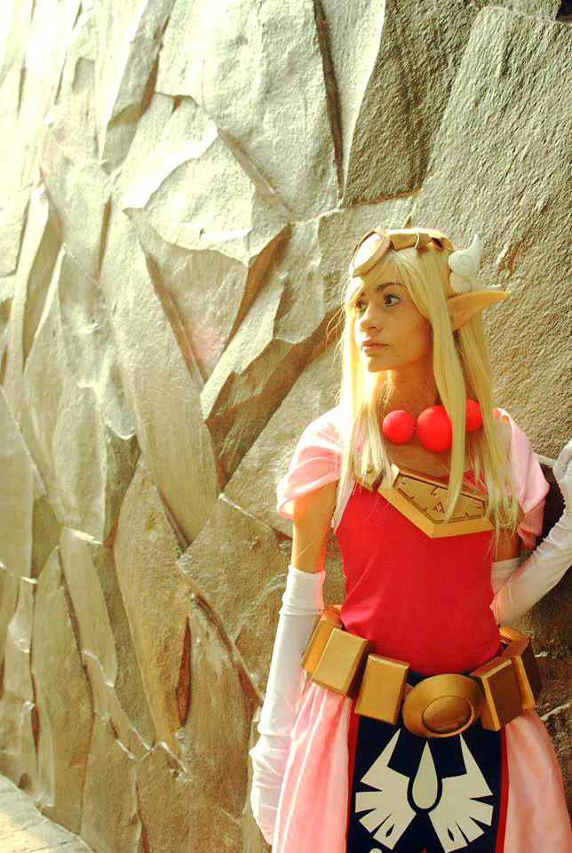 Toon Princess Zelda by darkbellphon