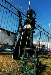 Female Thresh Cosplay