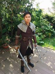 Dark Souls Wanderer Cosplay - Dual Wielding by Chroystain