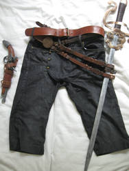 Arno Dorian - Pants, Belts and Holster by Chroystain