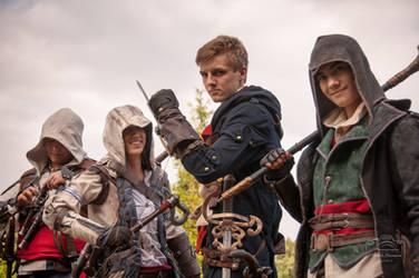Assassins unite! by Chroystain