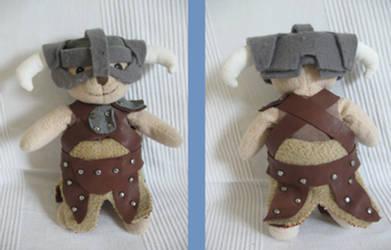 Dovahkiin - Teddy bear by Chroystain