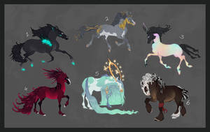 horse adoptables - [sold]