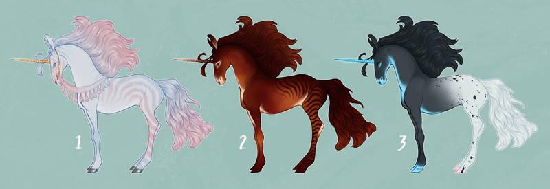 unicorn adoptables - [sold]