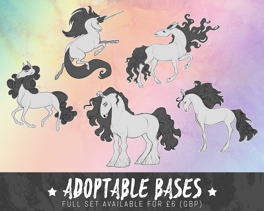 horse adoptable P2U pack - [for sale]