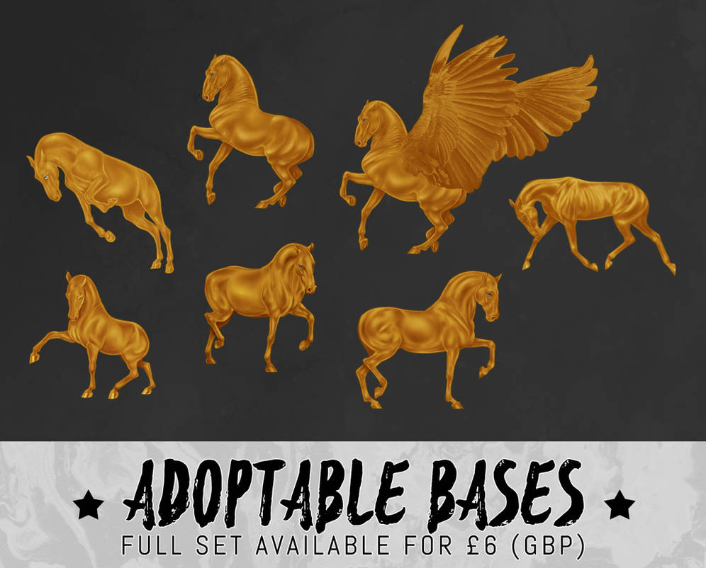 horse adoptable P2U pack V2 - [for sale]