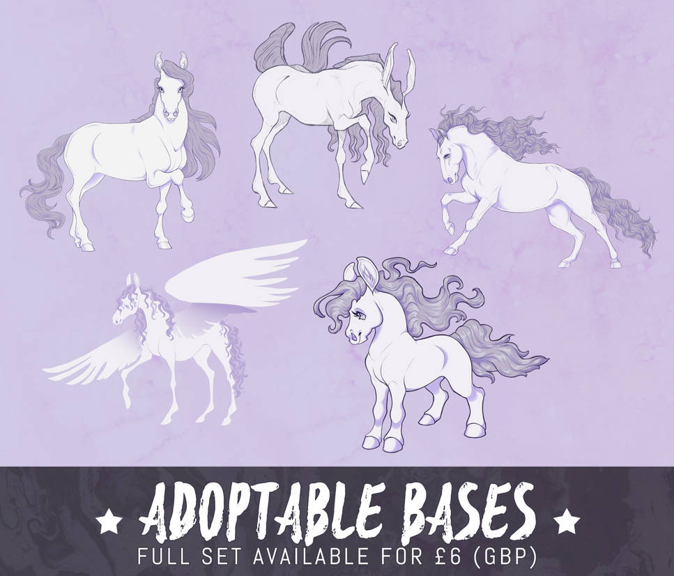 horse adoptable P2U pack V3 - [for sale]