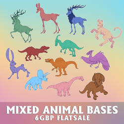 mixed animal P2U bases - [for sale]