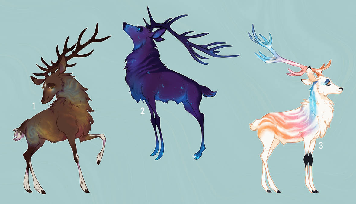 stag adoptables - [2 / 3 open]