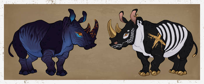 rhino adoptables - [1 / 2 open] [REDUCED]
