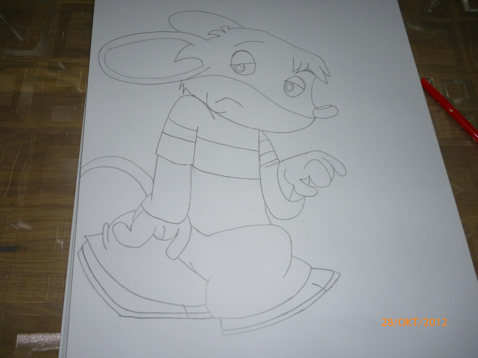 how to draw benjamin stilton