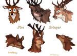 Fire Bringer Deer colored