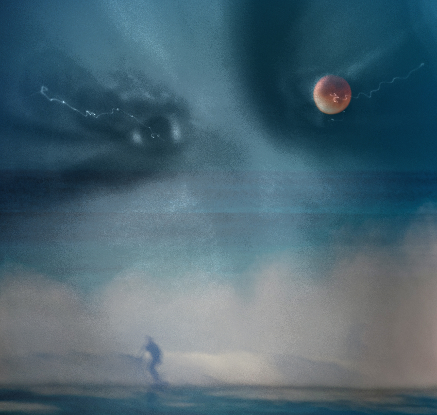 Blood Moon Surfer by Markus43