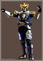 Kamen Rider IXA by khidirss