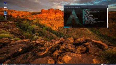 Mate 1.18.2 - Arch Linux - Kernel 4.13.12-1-zen by darkmuaddib