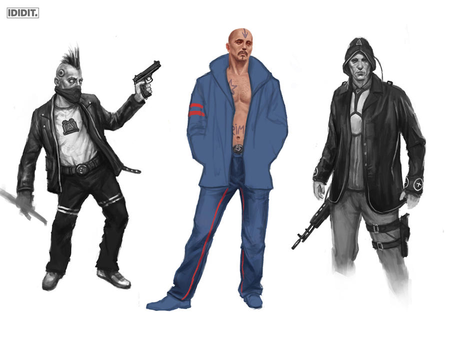 Shadowrun clothing stuff by Zgfisher