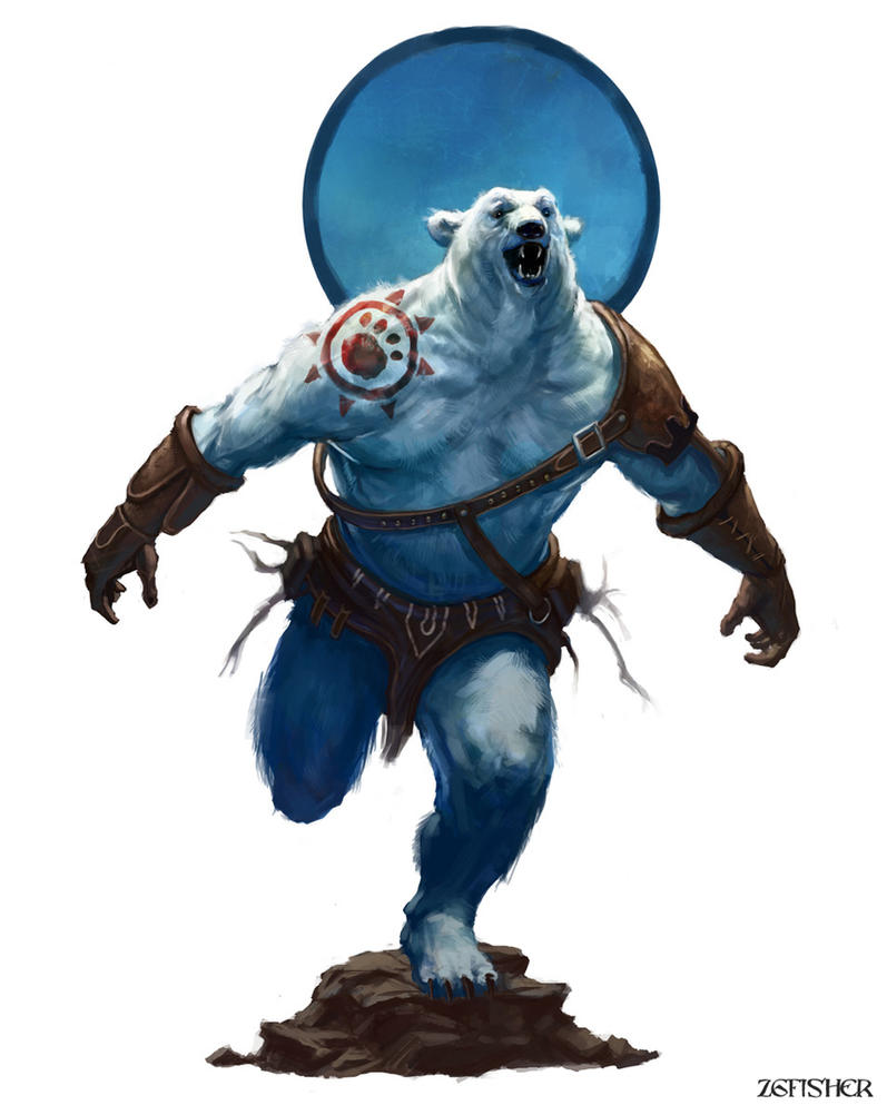Bear Warrior by Zgfisher