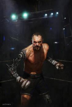 Cyberpunk Boxer