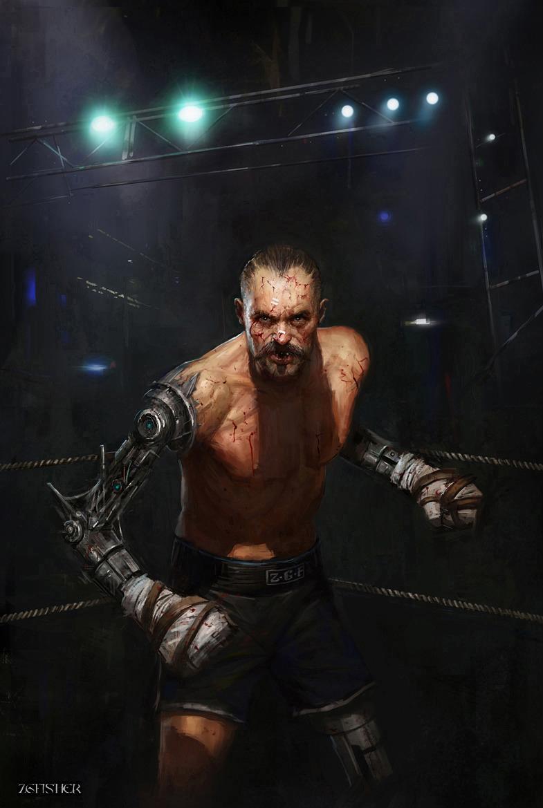 Cyberpunk Boxer by Zgfisher