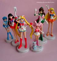 Sailor Moon Candy Figures by Naneia