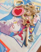 Sailor Moon Time Key Bag Charm by Naneia