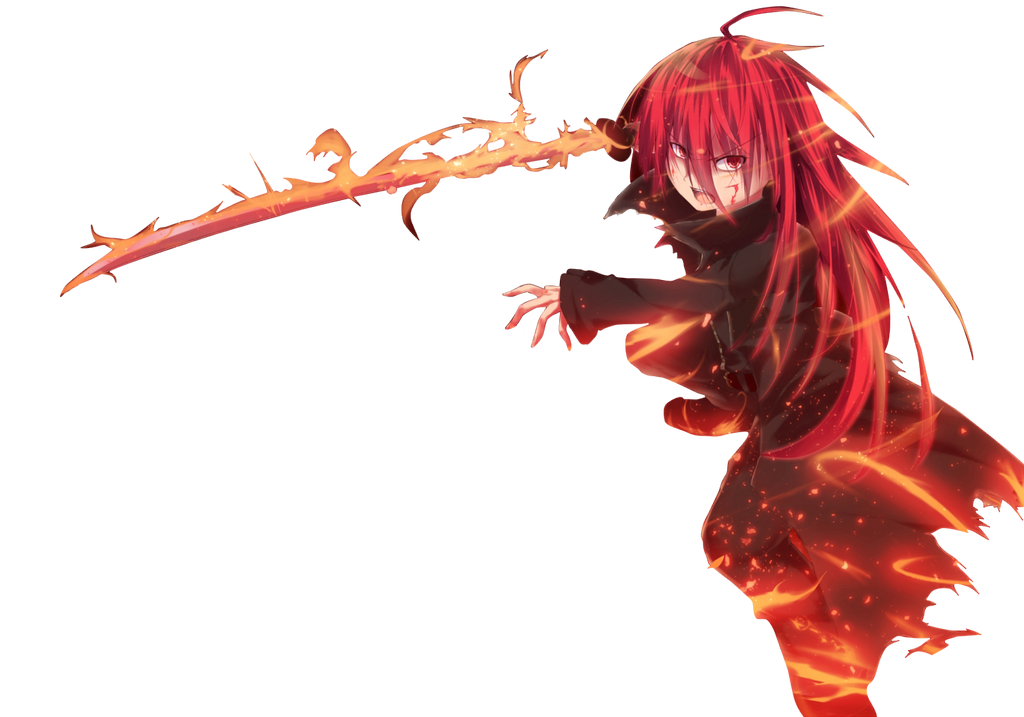 Anime fire girl by matis161 on deviantart - Anime girls with fire ...