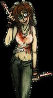 Natalie RPG battle pose: (time distortion)
