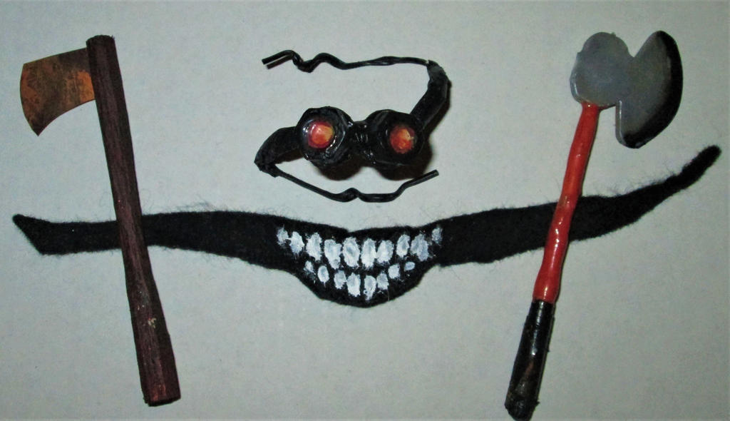 Mask and Axes by Tsnophaljakarax