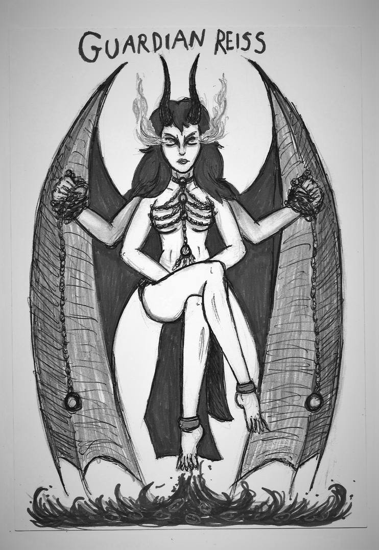 Creepypasta Gods #1: Guardian Reiss by Tsnophaljakarax