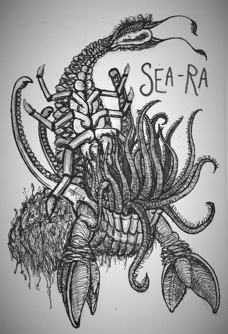 Creepypasta Gods #7: Sea-Ra by Tsnophaljakarax