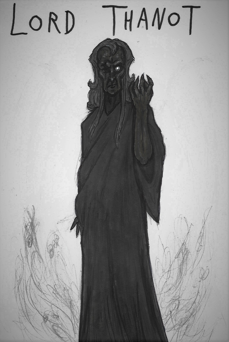 Creepypasta Gods #8: Lord Thanot Reiss by Tsnophaljakarax