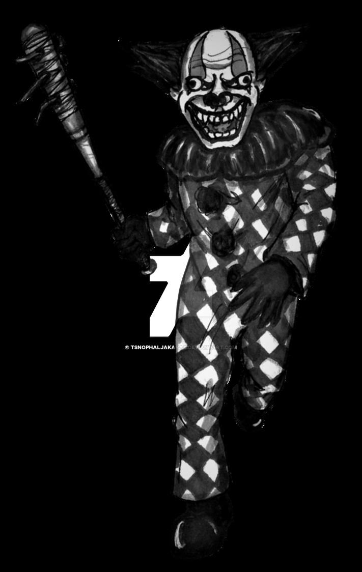 Clown 1 (RPG battle sprite) by Tsnophaljakarax