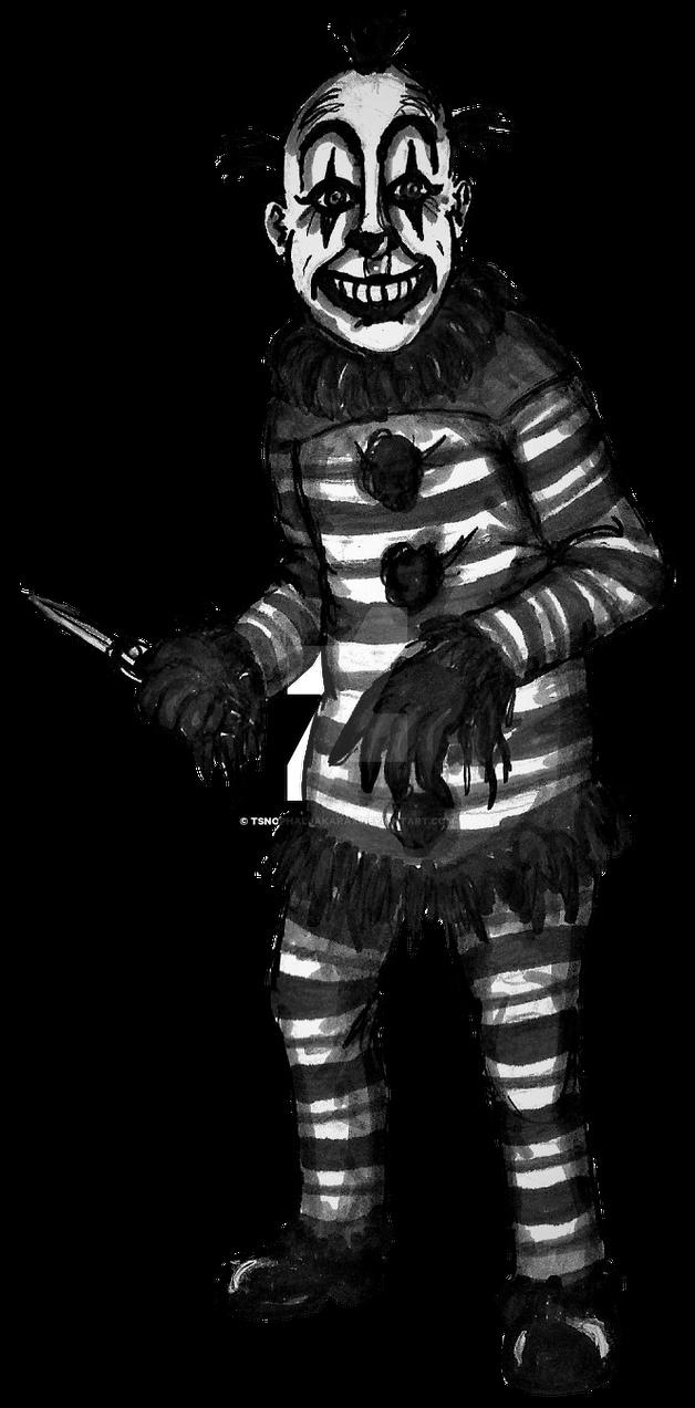 Clown 3 (RPG battle sprite) by Tsnophaljakarax