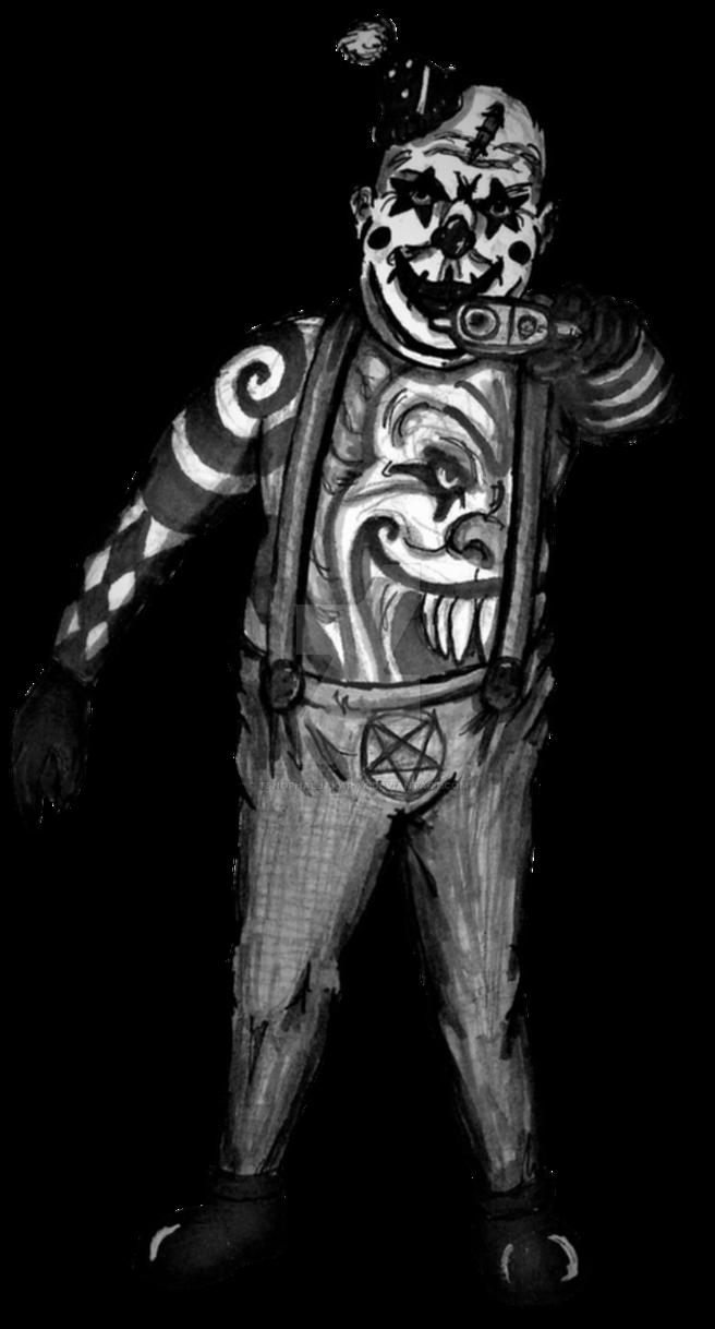 Clown 4 (RPG battle sprite) by Tsnophaljakarax