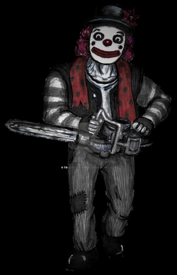 Clown 5 (RPG battle sprite) by Tsnophaljakarax