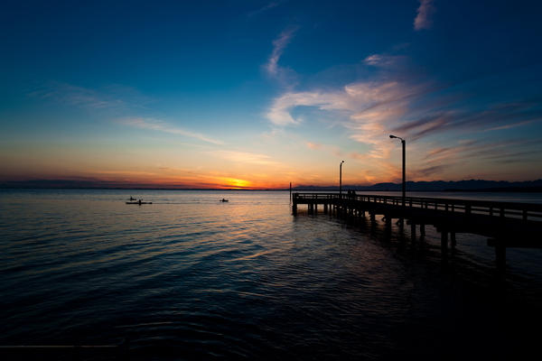 Sunset 21mm Zeiss
