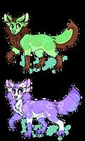 Doggo Adopts!! by ElectraTheKilljoy
